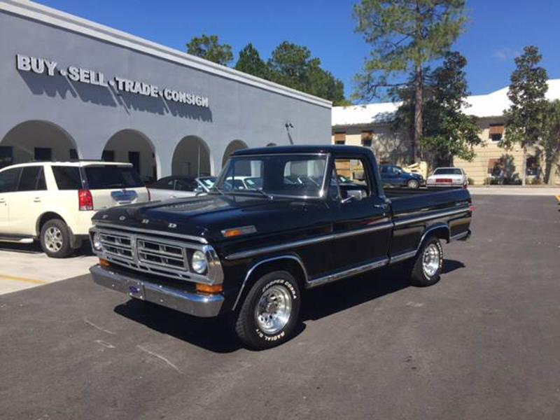 1971 Ford F-100 for sale at Highway 59 Automart in Gulf Shores AL