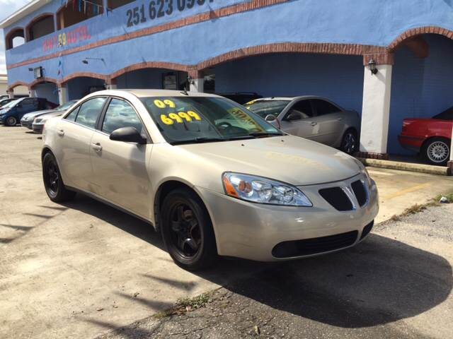 2009 Pontiac G6 for sale at Highway 59 Automart in Gulf Shores AL