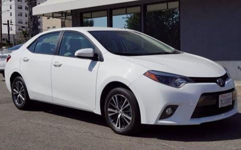 2016 Toyota Corolla for sale in Los Angeles CA