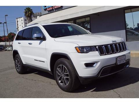 2017 Jeep Grand Cherokee for sale in Los Angeles, CA
