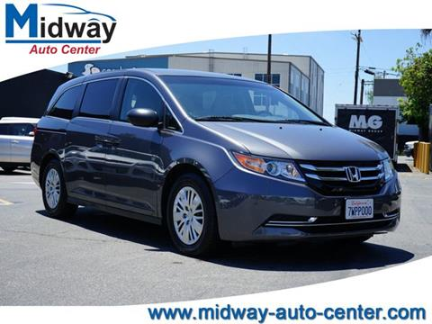 2017 Honda Odyssey for sale in Los Angeles, CA