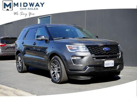 2019 Ford Explorer for sale in Los Angeles, CA