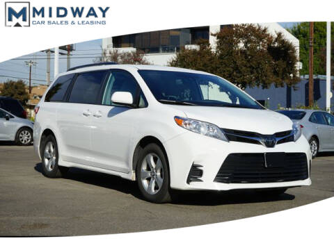 2020 Toyota Sienna for sale in Los Angeles, CA
