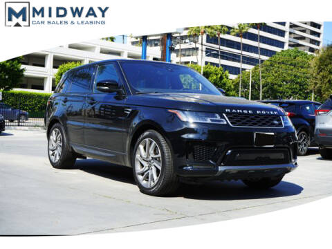2019 Land Rover Range Rover Sport HSE MHEV for sale at BuyMCar.com in Los Angeles CA