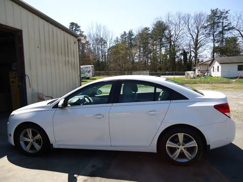 2012 Chevrolet Cruze for sale at Street Source Auto LLC in Hickory NC