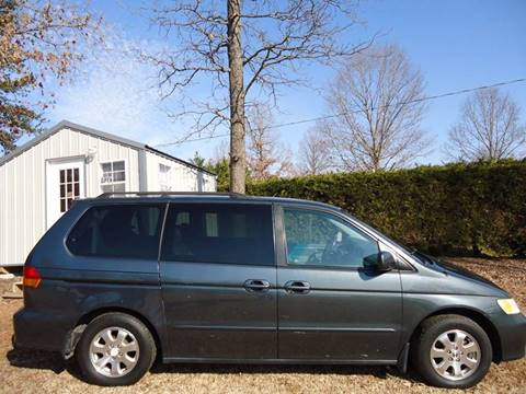 2003 Honda Odyssey for sale at Street Source Auto LLC in Hickory NC