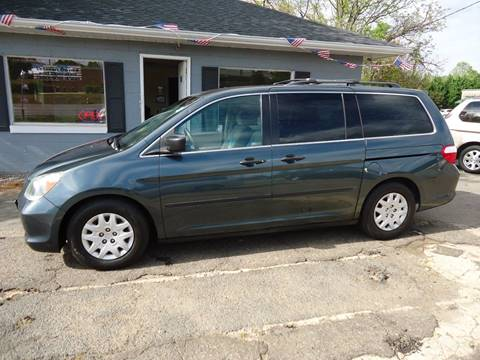 2005 Honda Odyssey for sale at Street Source Auto LLC in Hickory NC