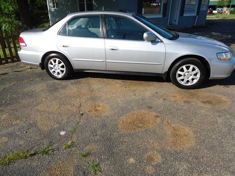 2002 Honda Accord for sale at Street Source Auto LLC in Hickory NC