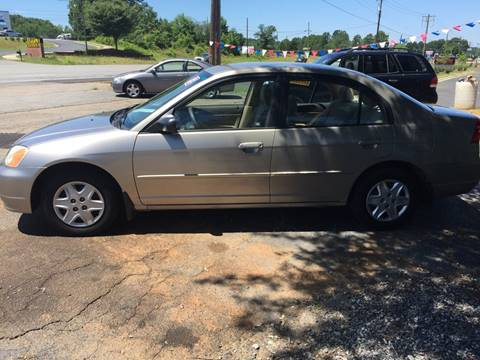 2003 Honda Civic for sale at Street Source Auto LLC in Hickory NC