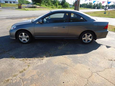 2004 Honda Civic for sale at Street Source Auto LLC in Hickory NC
