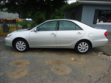 2004 Toyota Camry for sale at Street Source Auto LLC in Hickory NC