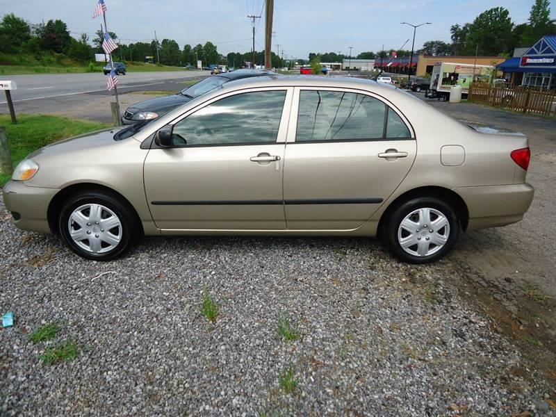 2005 Toyota Corolla for sale at Street Source Auto LLC in Hickory NC