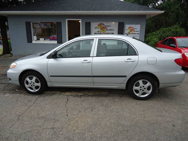 2005 Toyota Corolla for sale at Street Source Auto LLC - Street Source Auto in Hickory NC