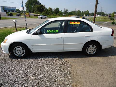 2002 Honda Civic for sale at Street Source Auto LLC in Hickory NC