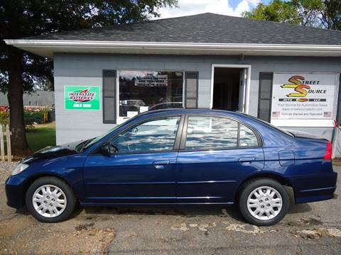 2005 Honda Civic for sale at Street Source Auto LLC in Hickory NC