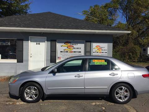 2003 Honda Accord for sale at Street Source Auto LLC in Hickory NC
