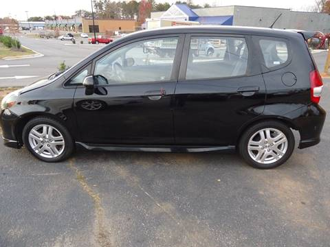 2007 Honda Fit for sale at Street Source Auto LLC in Hickory NC