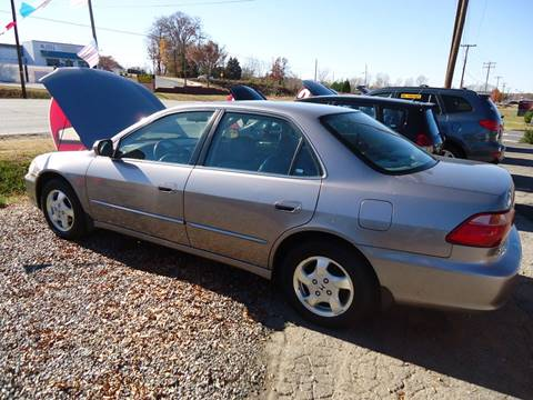 2000 Honda Accord for sale at Street Source Auto LLC in Hickory NC