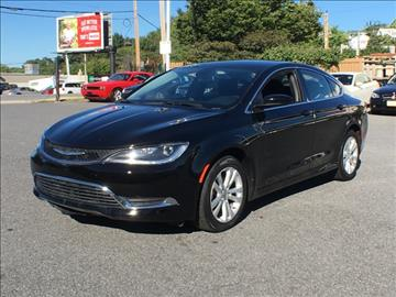 2015 Chrysler 200 for sale in Waldorf, MD
