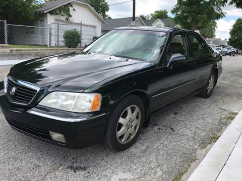 2002 Acura RL for sale at JE Auto Sales LLC in Indianapolis IN