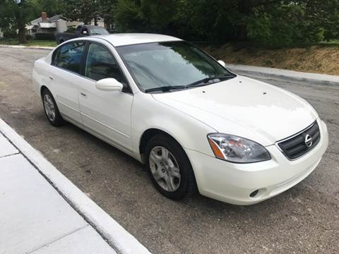 2003 Nissan Altima for sale at JE Auto Sales LLC in Indianapolis IN