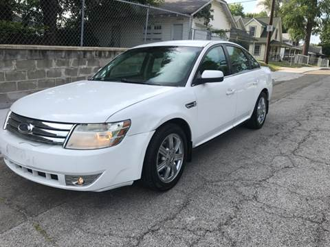2008 Ford Taurus for sale at JE Auto Sales LLC in Indianapolis IN