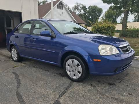 2008 Suzuki Forenza for sale at JE Auto Sales LLC in Indianapolis IN