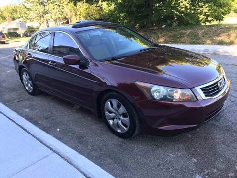 2008 Honda Accord for sale at JE Auto Sales LLC in Indianapolis IN