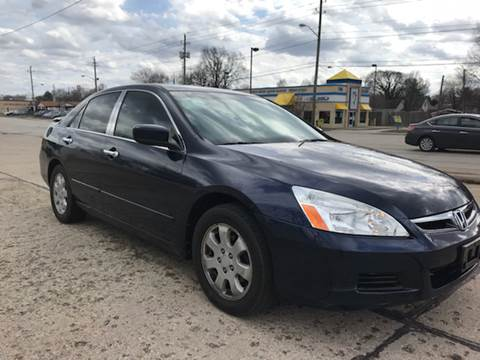 2007 Honda Accord for sale at JE Auto Sales LLC in Indianapolis IN