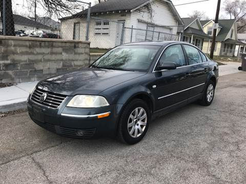 2003 Volkswagen Passat for sale at JE Auto Sales LLC in Indianapolis IN
