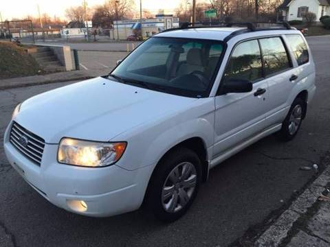 2008 Subaru Forester for sale at JE Auto Sales LLC in Indianapolis IN