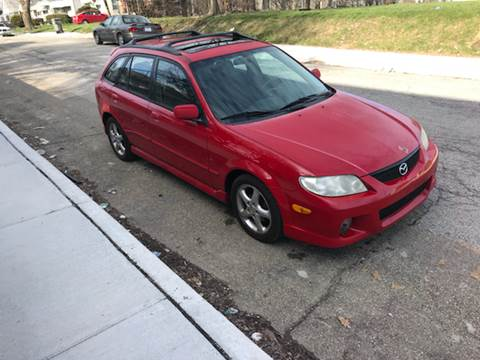 2002 Mazda Protege5 for sale at JE Auto Sales LLC in Indianapolis IN
