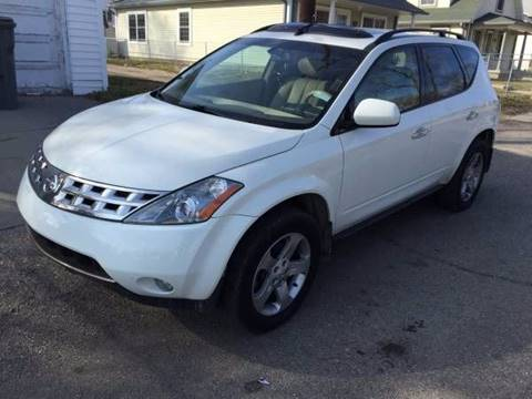 2004 Nissan Murano for sale at JE Auto Sales LLC in Indianapolis IN