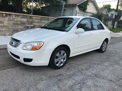 2007 Kia Spectra for sale at JE Auto Sales LLC in Indianapolis IN