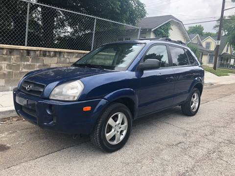 2006 Hyundai Tucson for sale at JE Auto Sales LLC in Indianapolis IN