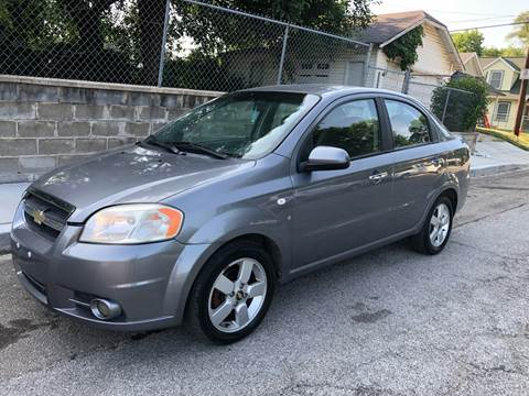 2008 Chevrolet Aveo for sale at JE Auto Sales LLC in Indianapolis IN