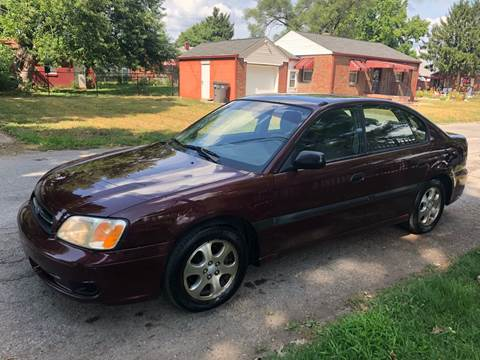 2001 Subaru Legacy for sale at JE Auto Sales LLC in Indianapolis IN