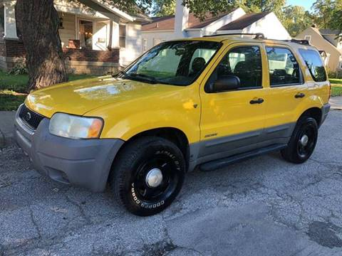 2002 Ford Escape for sale at JE Auto Sales LLC in Indianapolis IN