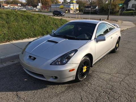 2000 Toyota Celica for sale at JE Auto Sales LLC in Indianapolis IN