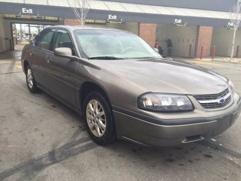 2002 Chevrolet Impala for sale at JE Auto Sales LLC in Indianapolis IN