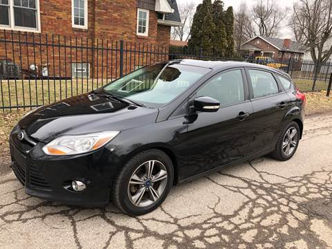 2014 Ford Focus for sale at JE Auto Sales LLC in Indianapolis IN