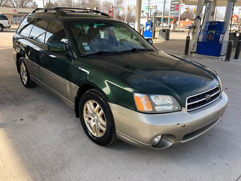 2001 Subaru Outback for sale at JE Auto Sales LLC in Indianapolis IN