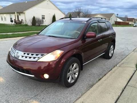 2007 Nissan Murano for sale at JE Auto Sales LLC in Indianapolis IN