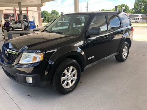 2008 Mazda Tribute for sale at JE Auto Sales LLC in Indianapolis IN