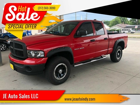 2005 Dodge Ram Pickup 1500 for sale at JE Auto Sales LLC in Indianapolis IN