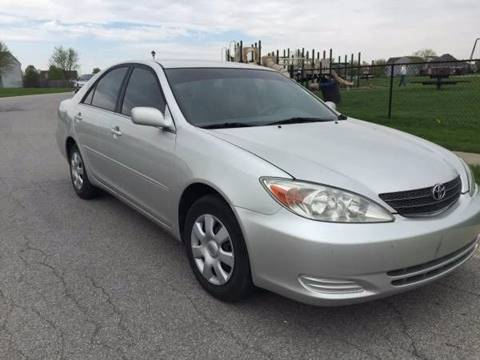 2003 Toyota Camry for sale at JE Auto Sales LLC in Indianapolis IN