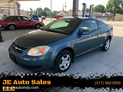 2007 Chevrolet Cobalt for sale at JE Auto Sales LLC in Indianapolis IN