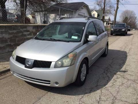 2006 Nissan Quest for sale at JE Auto Sales LLC in Indianapolis IN