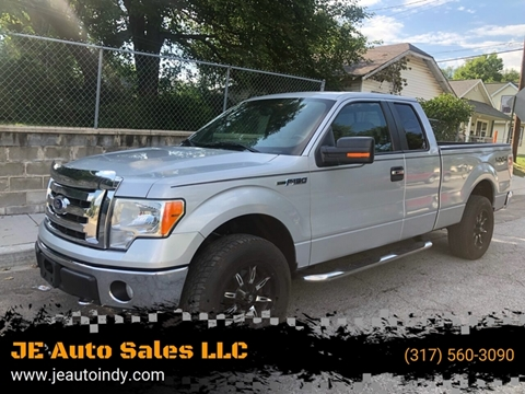 2009 Ford F-150 for sale at JE Auto Sales LLC in Indianapolis IN