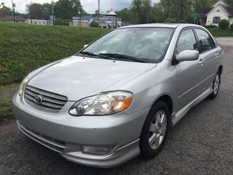 2004 Toyota Corolla for sale at JE Auto Sales LLC in Indianapolis IN